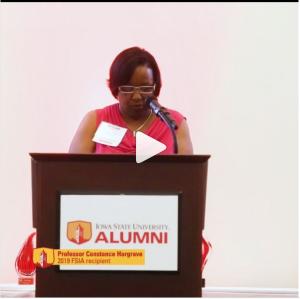 2019 Faculty Inspiration Award recipient